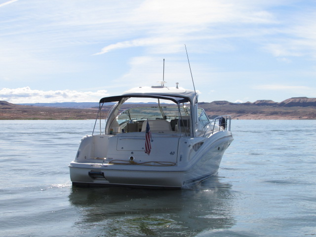 2006 Sea Ray boat for sale, model of the boat is 40 Sundancer & Image # 4 of 35