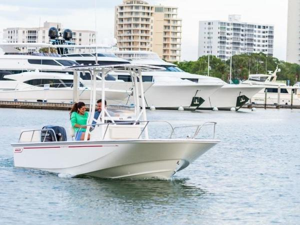 2020 Boston Whaler boat for sale, model of the boat is 190 Montauk & Image # 9 of 46