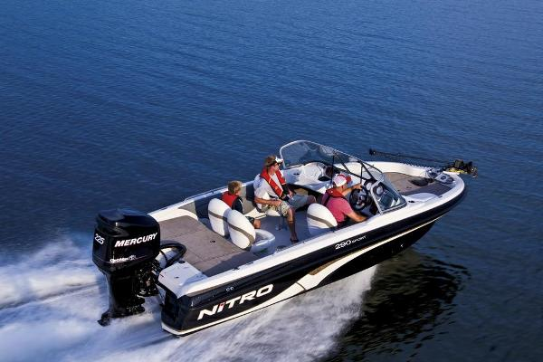 2013 NITRO 290 SPORT W/ 150 XL OPTIMAX AND TRAILER for sale