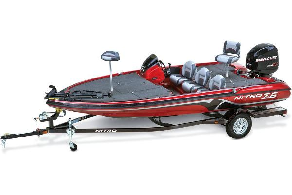 2013 Nitro Z-6 W/ 115 Elpt Optimax And Trailer