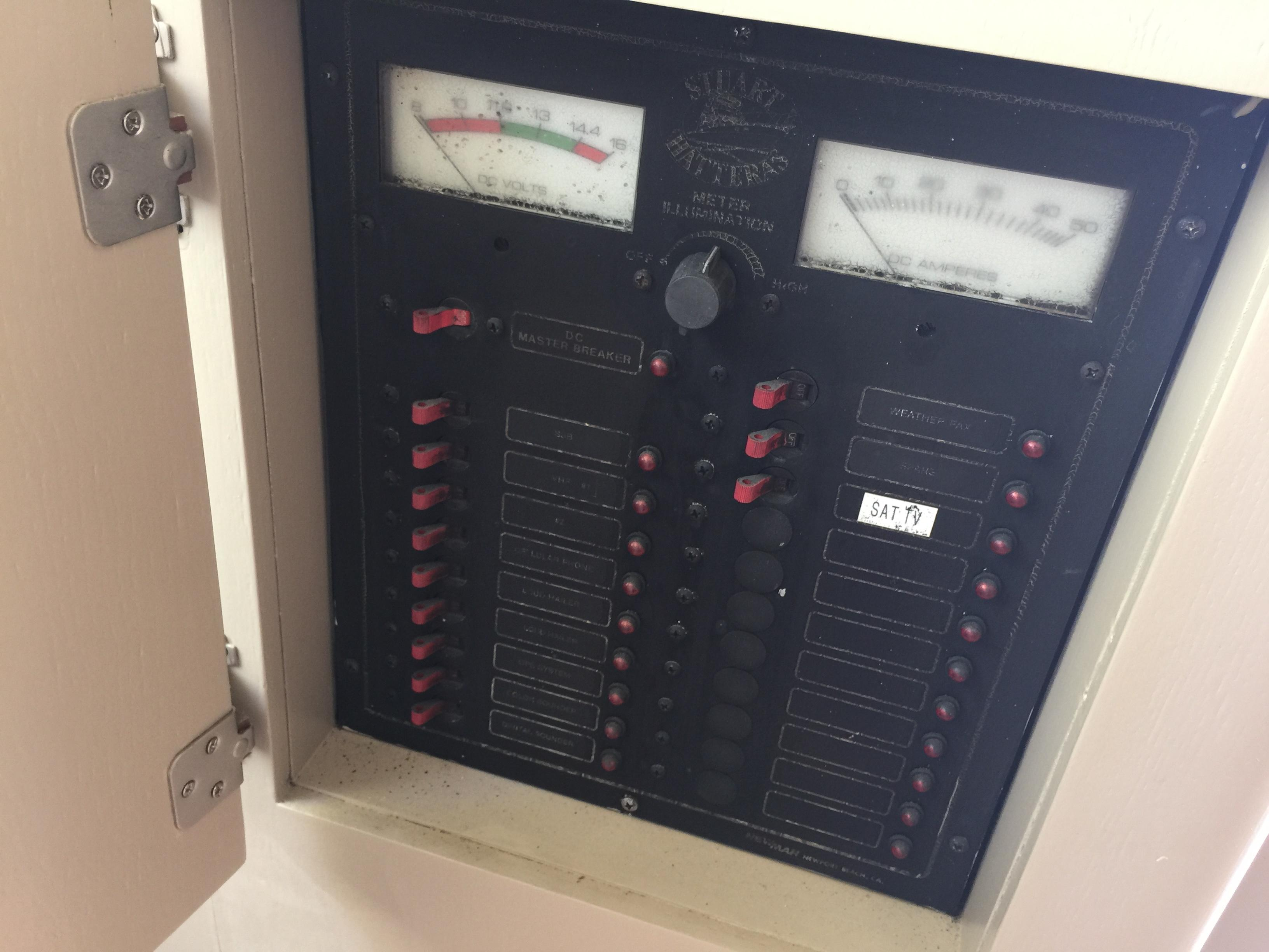 Electrical Panel - Forward