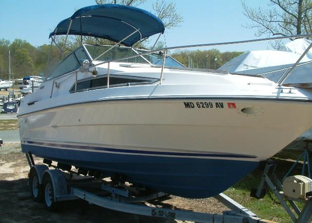 1989 Sea Ray Weekender with Trailer