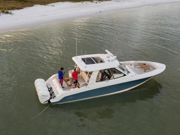 2020 Boston Whaler boat for sale, model of the boat is 380 Realm & Image # 22 of 87