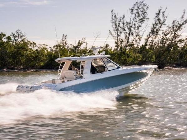 2020 Boston Whaler boat for sale, model of the boat is 380 Realm & Image # 52 of 87