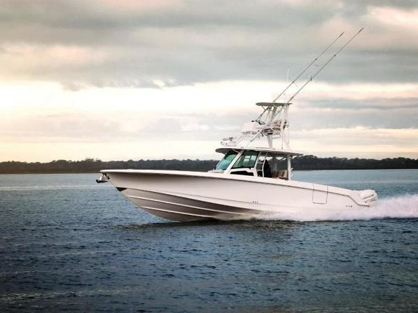 2020 Boston Whaler boat for sale, model of the boat is 380 Outrage & Image # 1 of 61