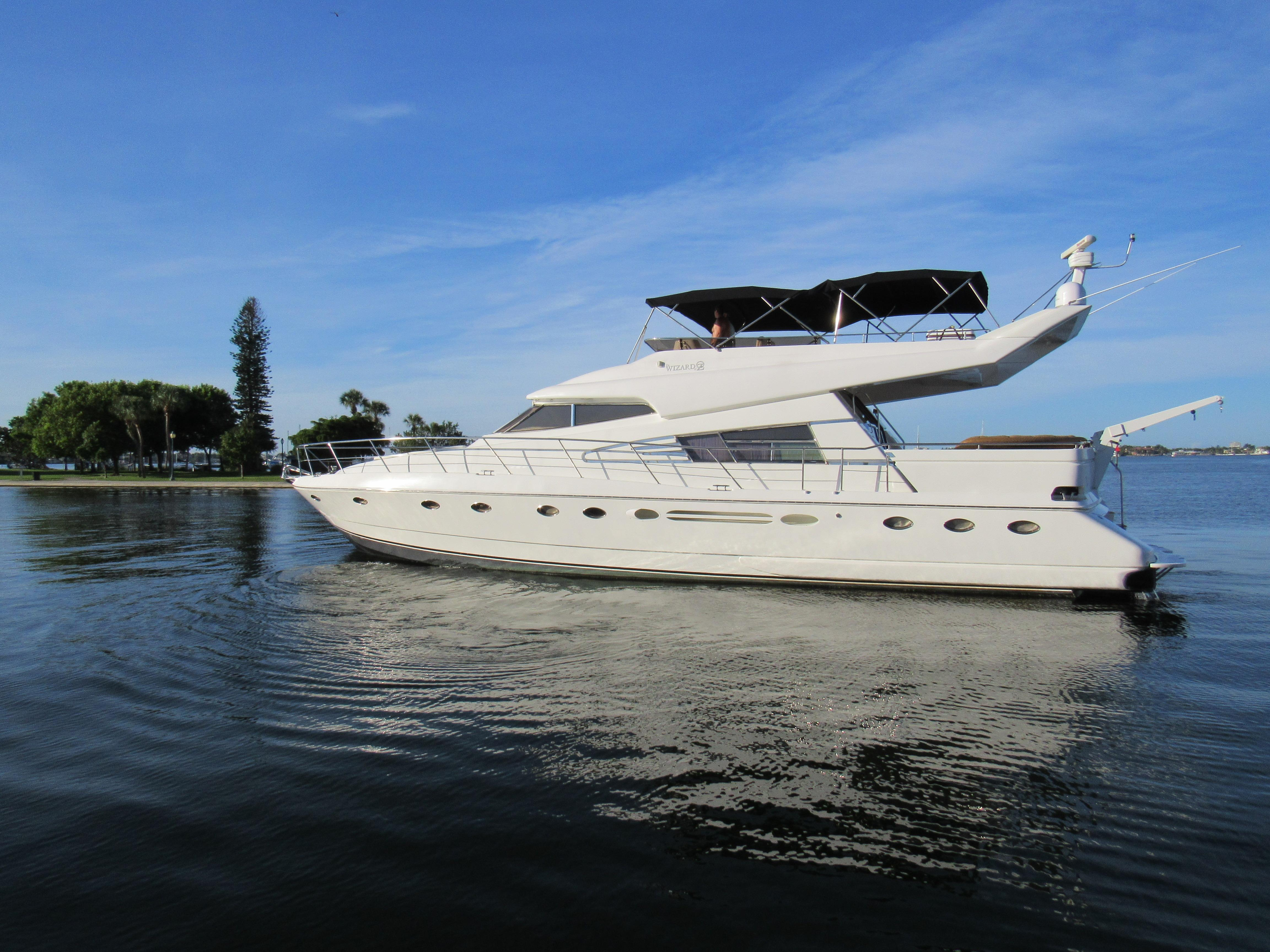 65' Johnson High Tech 1990 Motor Yacht