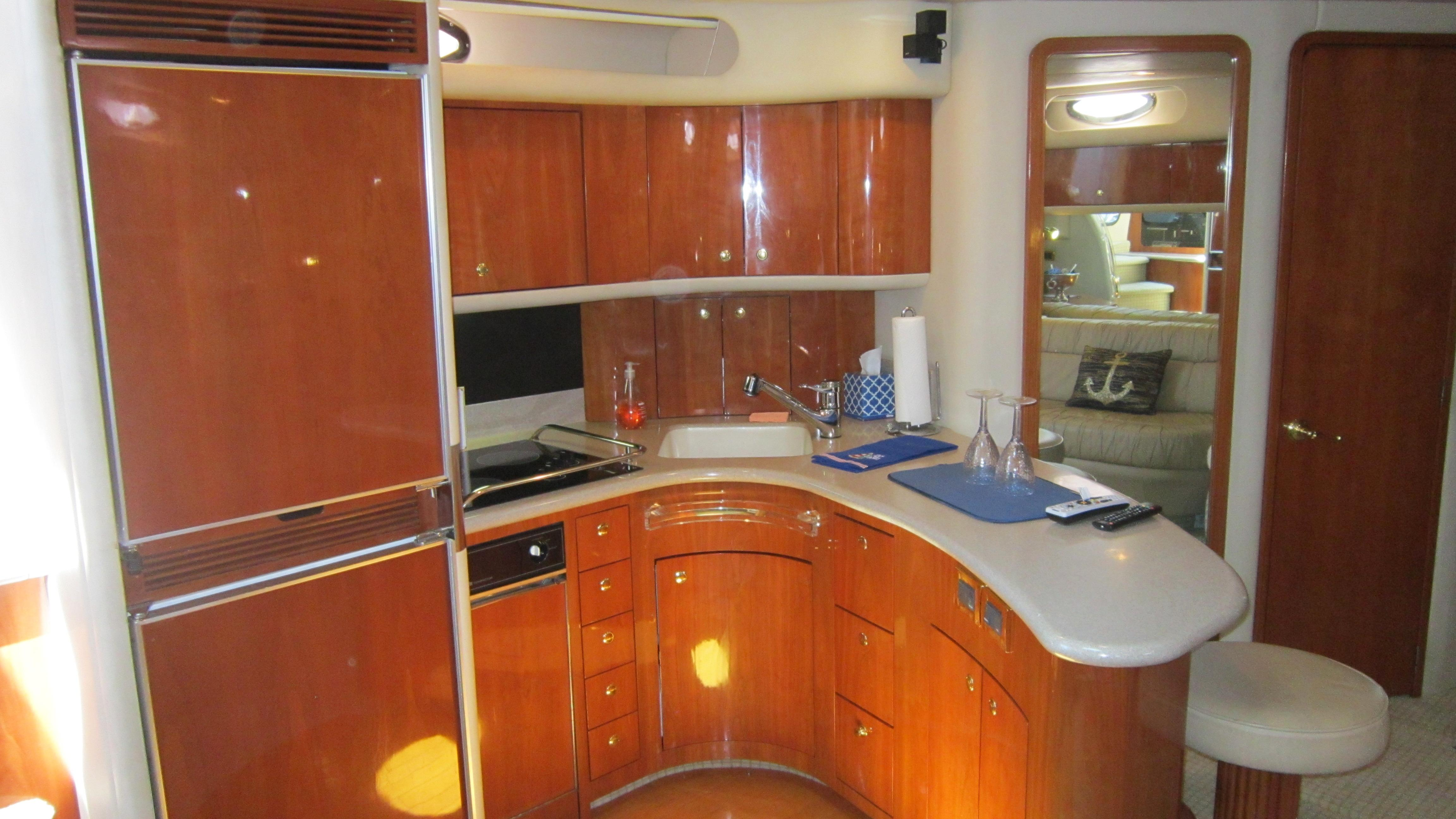 Galley Frig and counter space