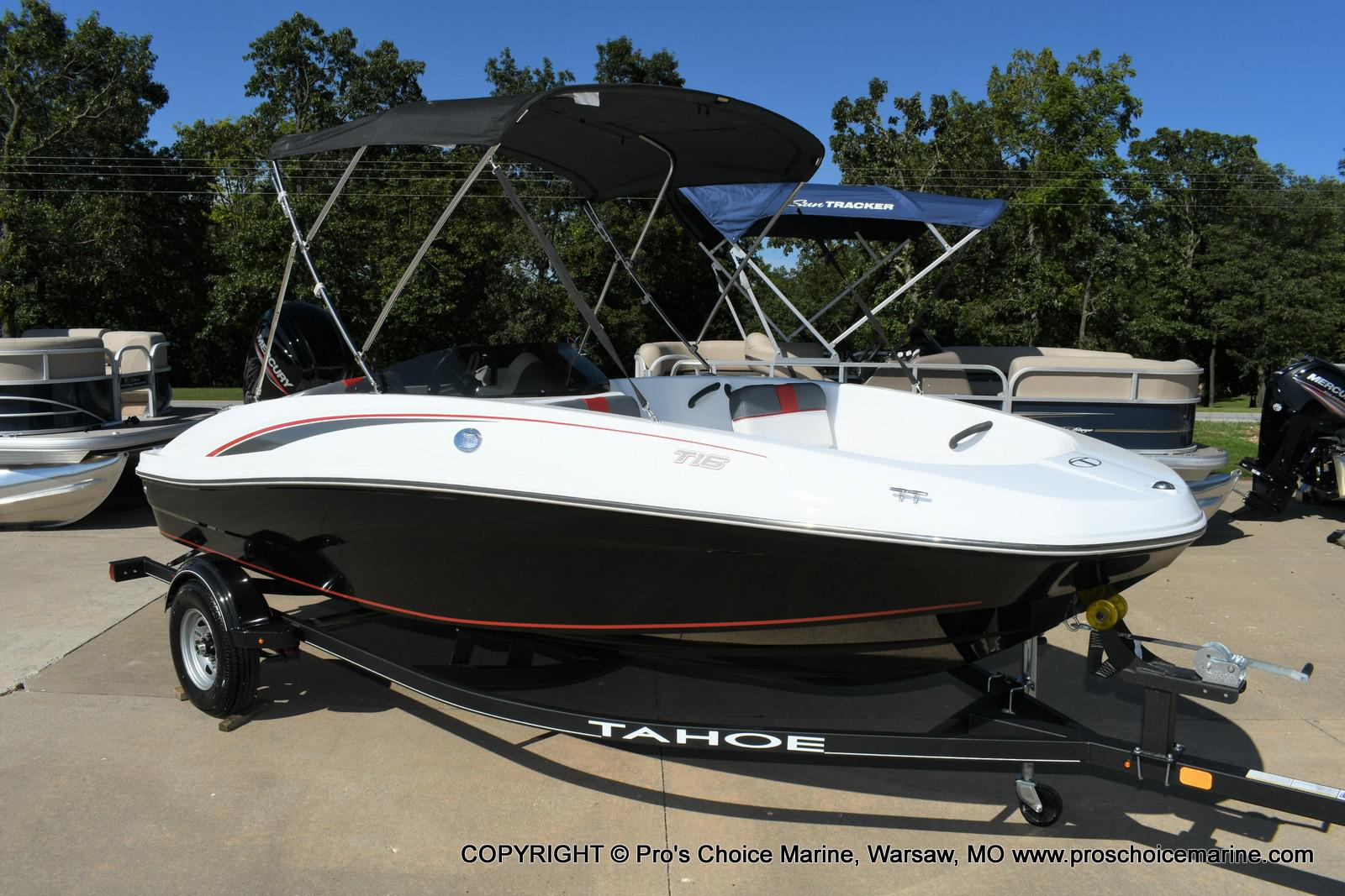 2020 Tahoe boat for sale, model of the boat is T16 & Image # 1 of 50