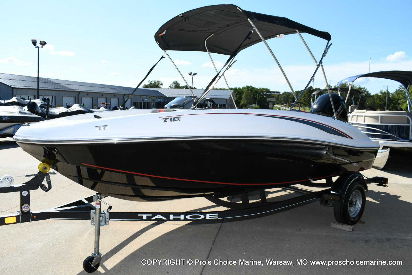 2020 Tahoe boat for sale, model of the boat is T16 & Image # 12 of 50