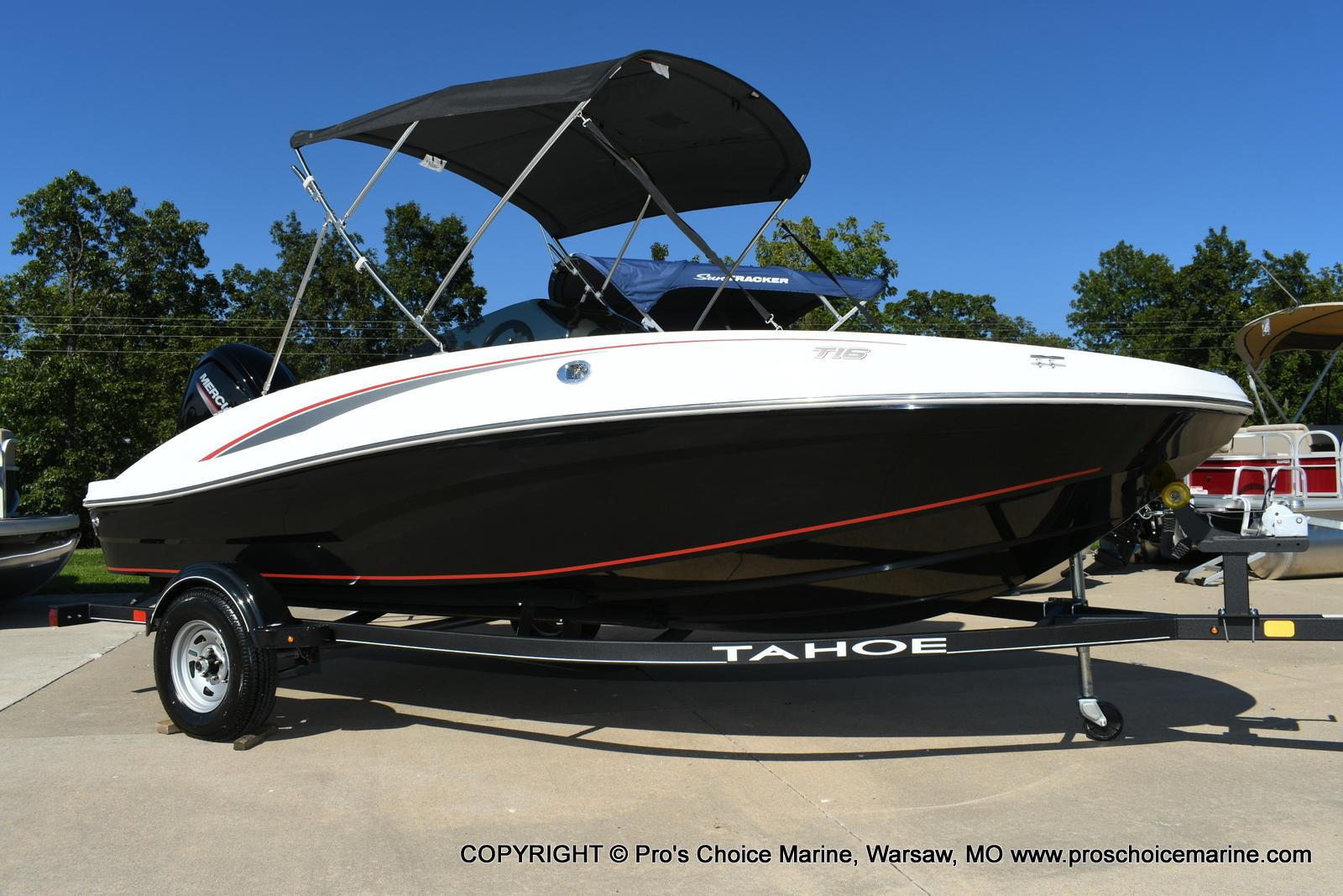 2020 Tahoe boat for sale, model of the boat is T16 & Image # 2 of 50