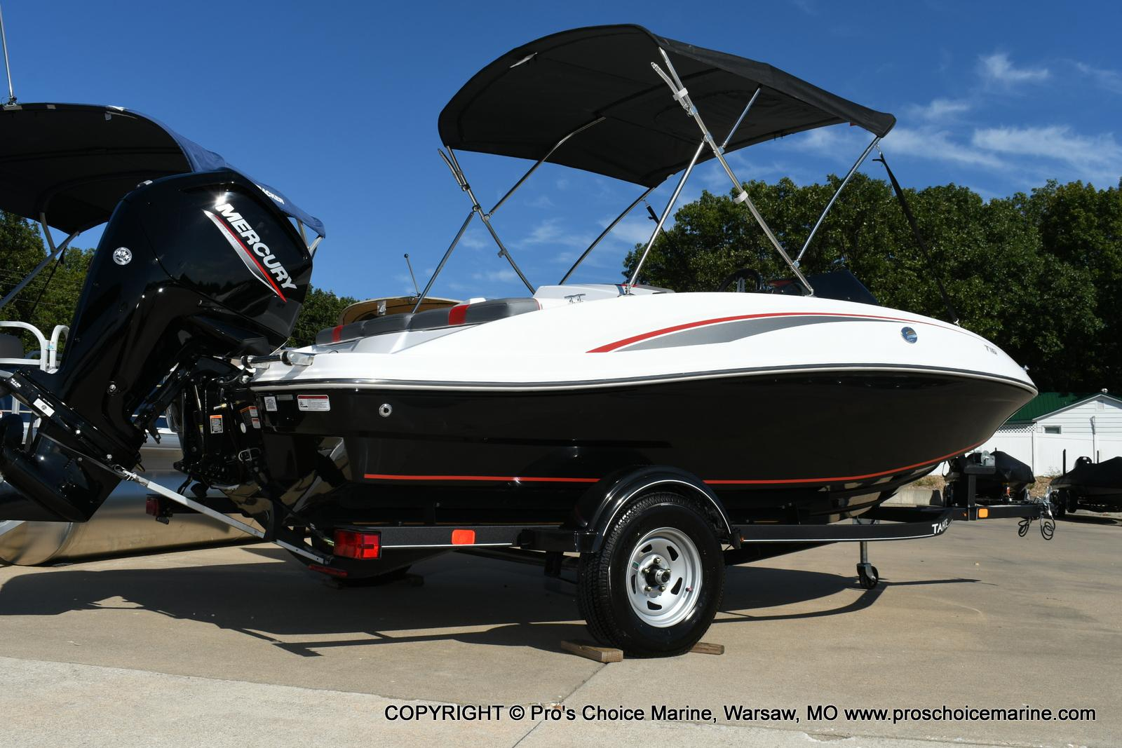 2020 Tahoe boat for sale, model of the boat is T16 & Image # 4 of 50