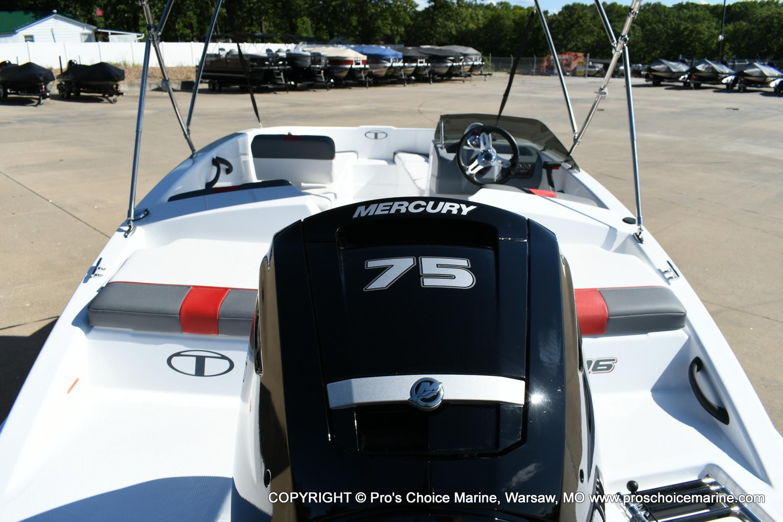 2020 Tahoe boat for sale, model of the boat is T16 & Image # 42 of 50