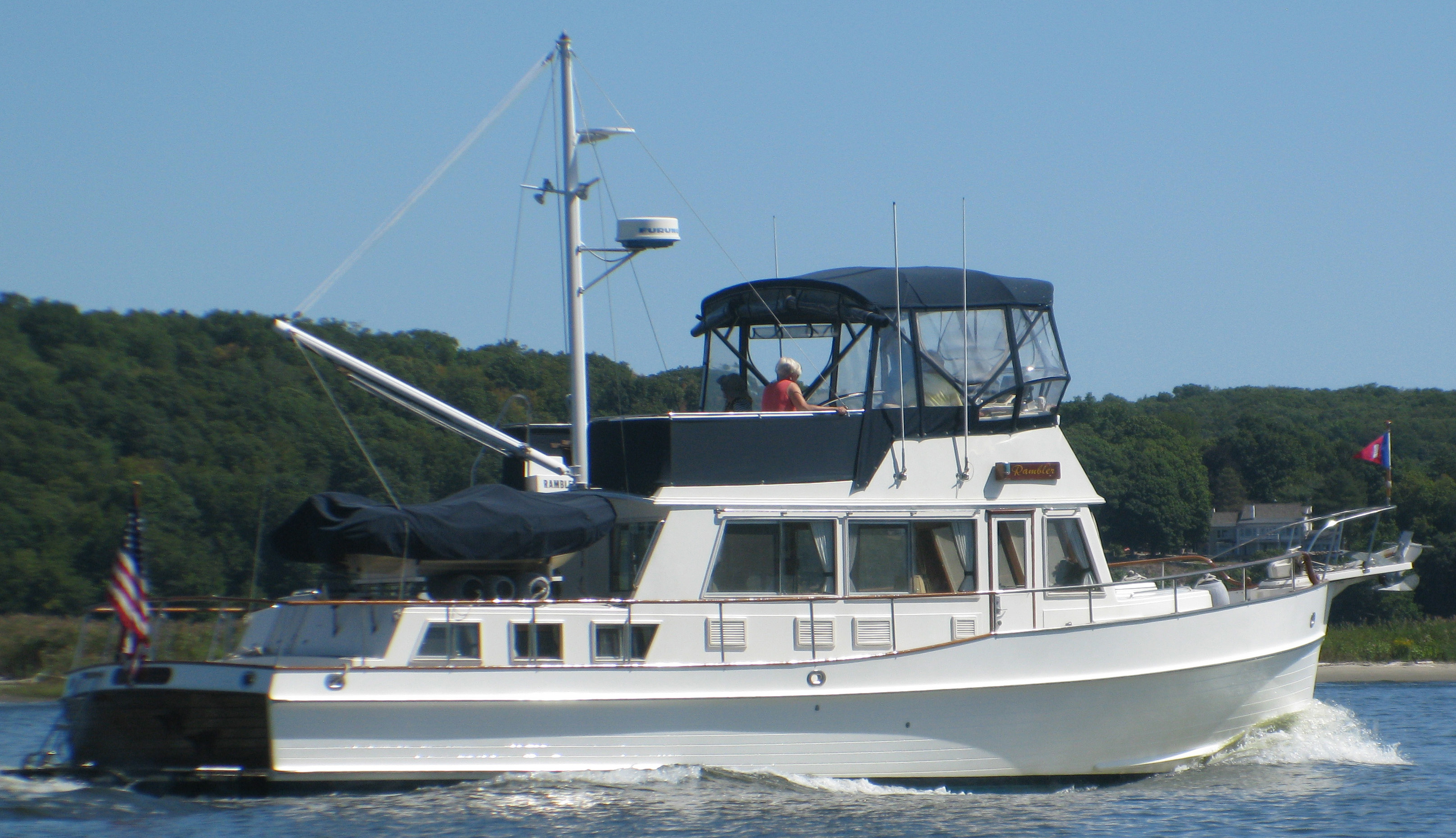 Banks For Sale >> 42 Grand Banks Rambler 1995 Essex Denison Yacht Sales