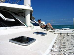 Solitude On Forward Deck