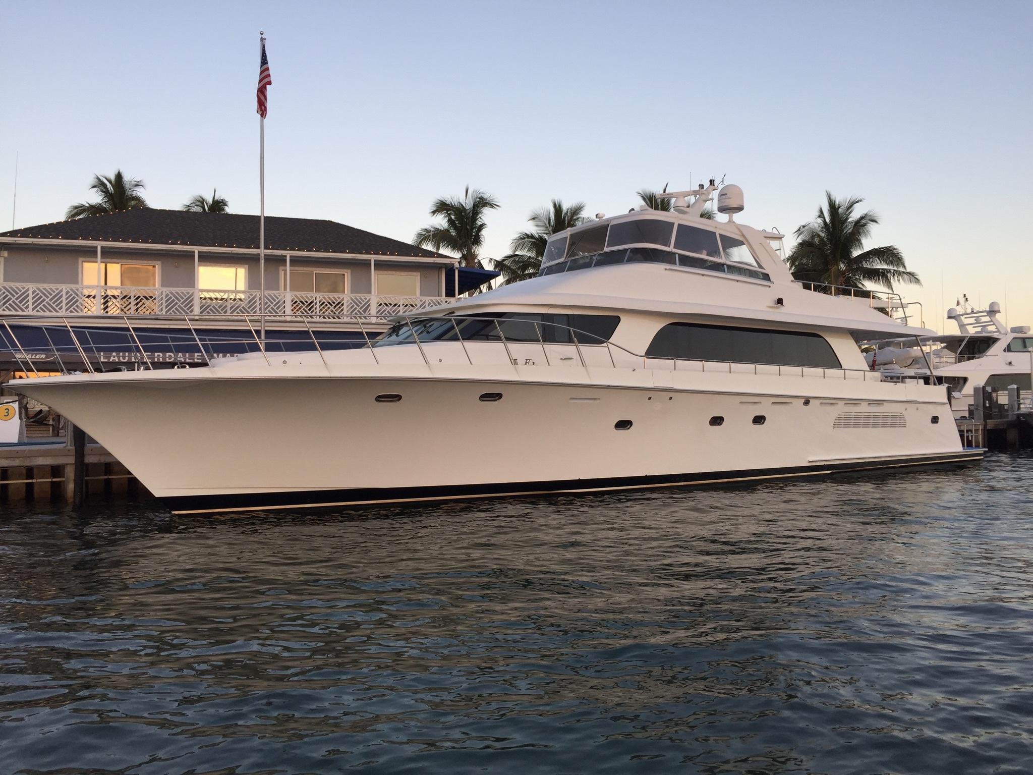 90 ft Cheoy Lee Sport Motor Yacht