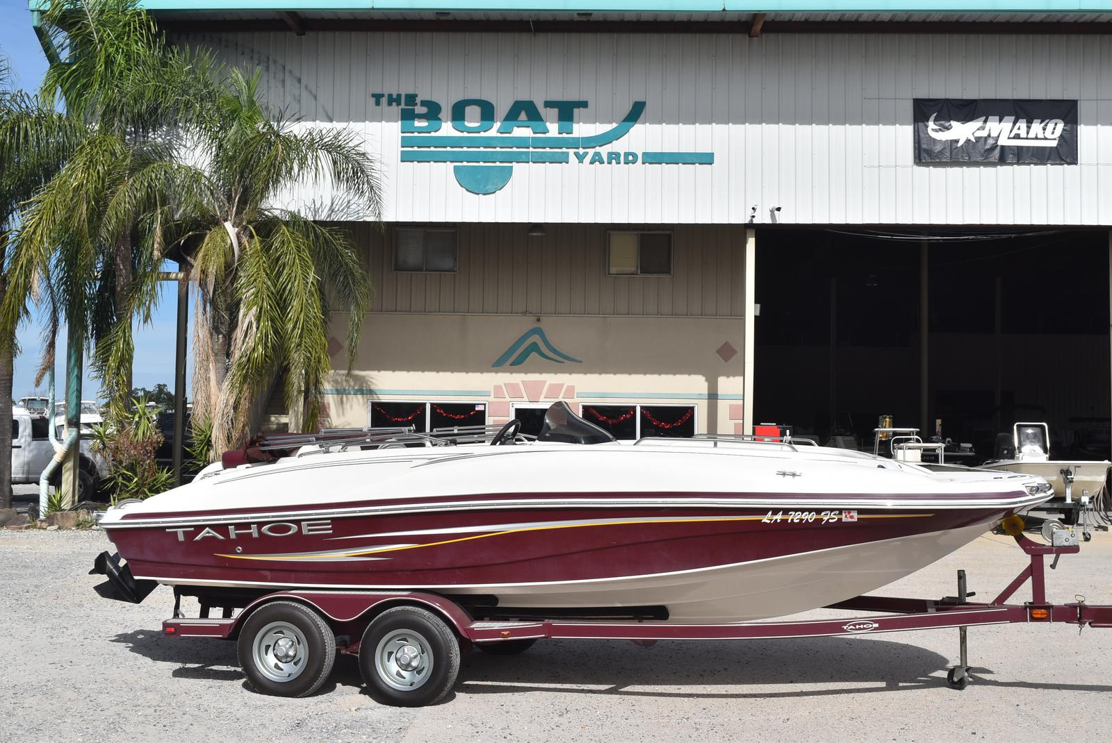 2008 Tahoe boat for sale, model of the boat is 215 & Image # 1 of 20