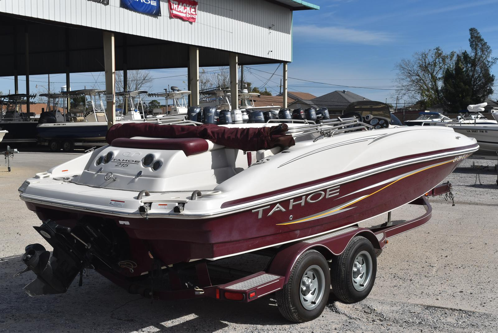 2008 Tahoe boat for sale, model of the boat is 215 & Image # 15 of 20