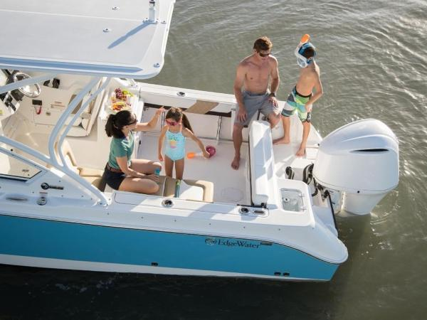 2020 Edgewater boat for sale, model of the boat is 248CX & Image # 4 of 11