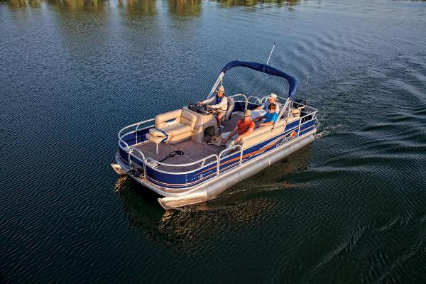 2013 SUN TRACKER FISHIN' BARGE 20 DLX for sale
