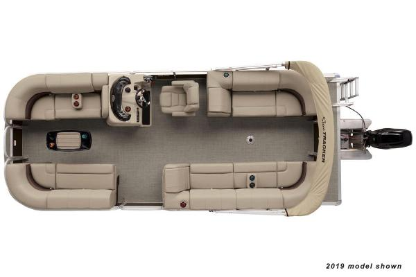 2020 Sun Tracker boat for sale, model of the boat is Party Barge 22 DLX & Image # 2 of 3