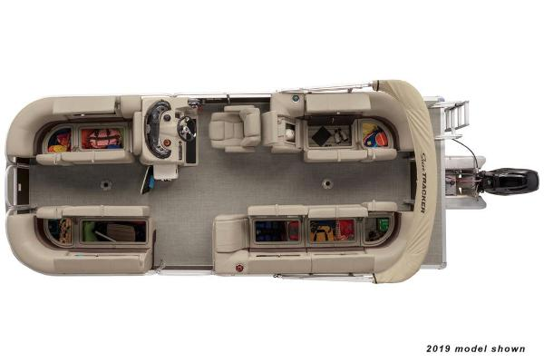 2020 Sun Tracker boat for sale, model of the boat is Party Barge 22 DLX & Image # 3 of 3