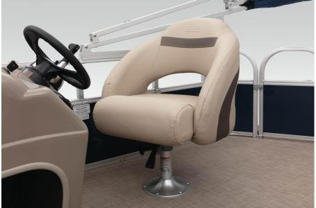 2020 Sun Tracker boat for sale, model of the boat is Party Barge 18 w/75ELPT 4S STD & Image # 34 of 37