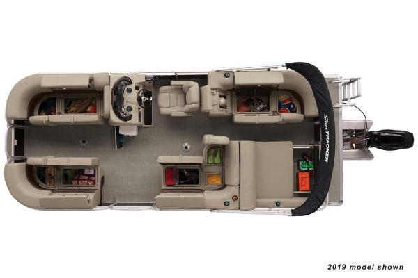 2020 Sun Tracker boat for sale, model of the boat is Party Barge 22 RF DLX & Image # 2 of 3