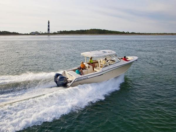 2020 Grady-White boat for sale, model of the boat is Freedom 335 & Image # 7 of 36