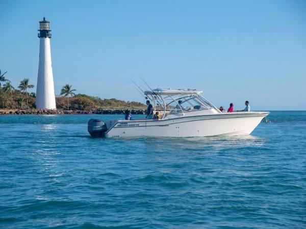 2020 Grady-White boat for sale, model of the boat is Freedom 335 & Image # 9 of 36