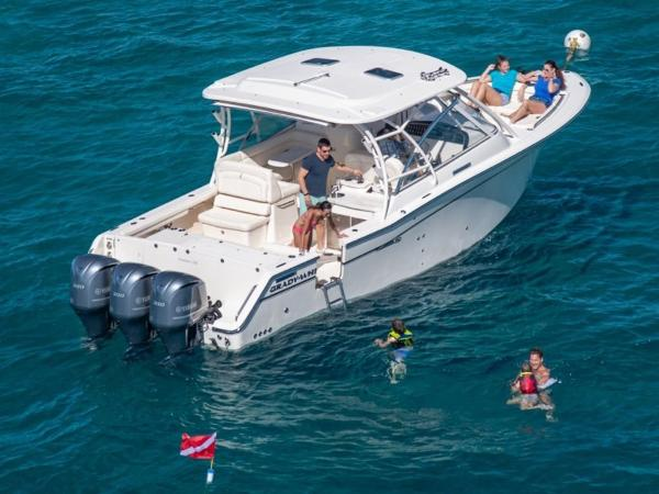 2020 Grady-White boat for sale, model of the boat is Freedom 335 & Image # 14 of 36