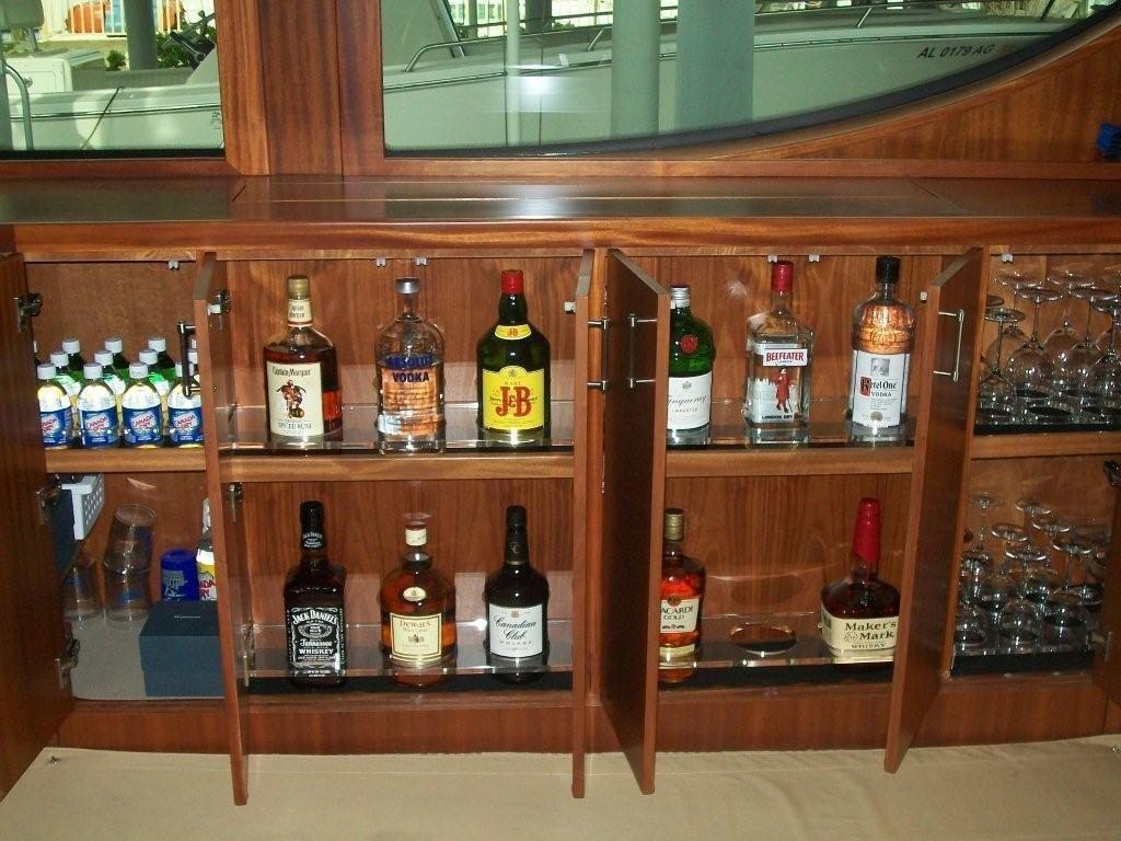 Salon Alcohol Storage Open