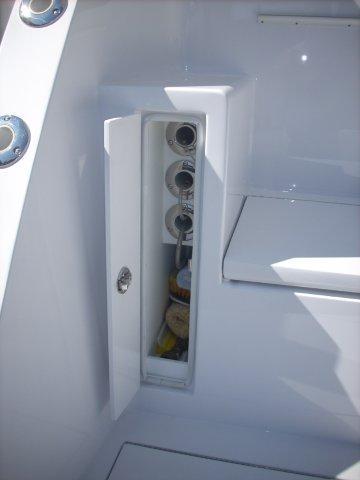 Cockpit Custom Gaff Storage