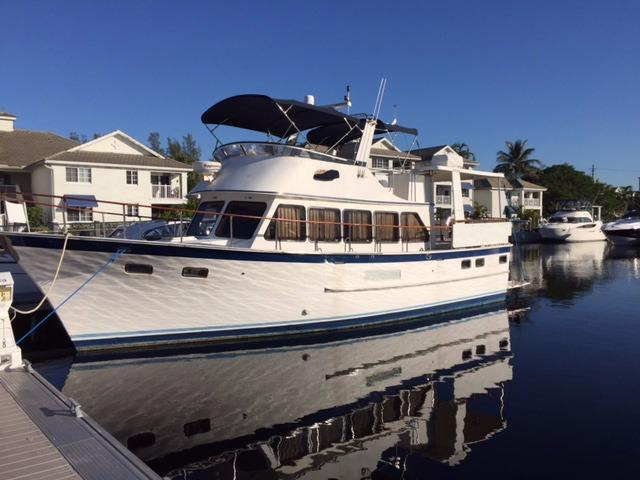 44' DeFever 1991 Long Range Cruiser