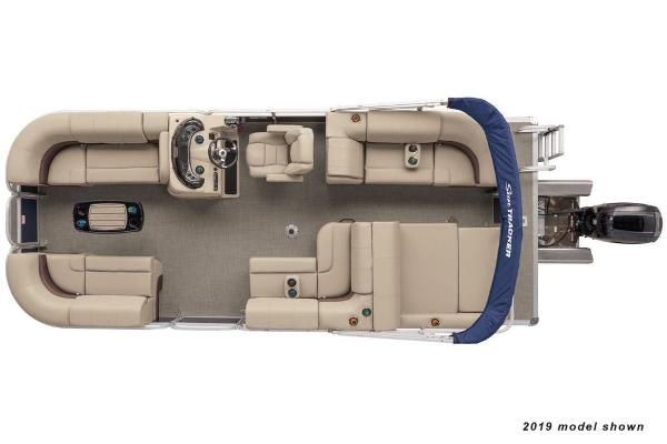 2020 Sun Tracker boat for sale, model of the boat is Party Barge 22 RF XP3 & Image # 2 of 3
