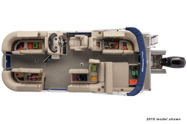 2020 Sun Tracker boat for sale, model of the boat is Party Barge 22 RF XP3 & Image # 3 of 3