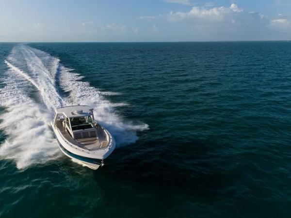 2020 Boston Whaler boat for sale, model of the boat is 420 Outrage & Image # 12 of 55