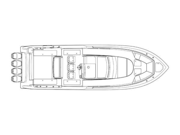 2020 Boston Whaler boat for sale, model of the boat is 420 Outrage & Image # 23 of 55