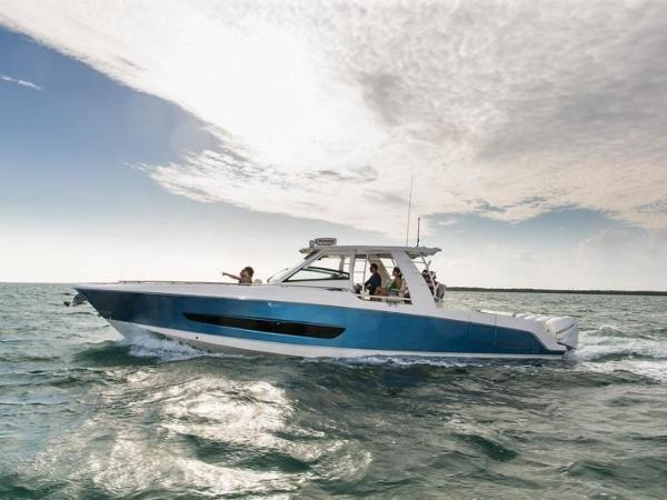 2020 Boston Whaler boat for sale, model of the boat is 420 Outrage & Image # 25 of 55