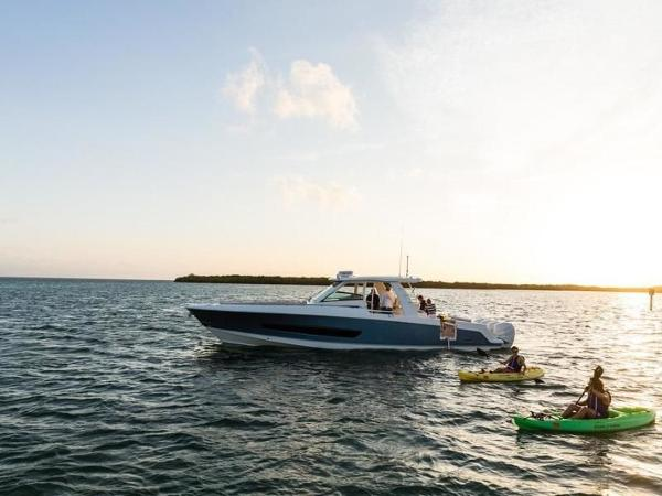 2020 Boston Whaler boat for sale, model of the boat is 420 Outrage & Image # 28 of 55