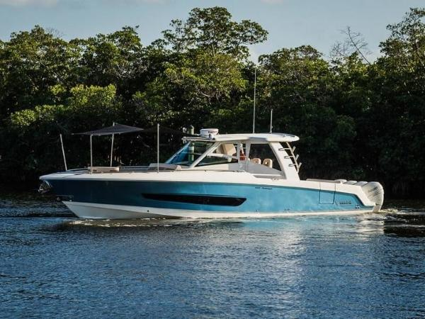 2020 Boston Whaler boat for sale, model of the boat is 420 Outrage & Image # 32 of 55