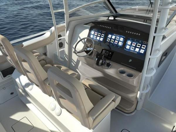 2020 Boston Whaler boat for sale, model of the boat is 420 Outrage & Image # 40 of 55