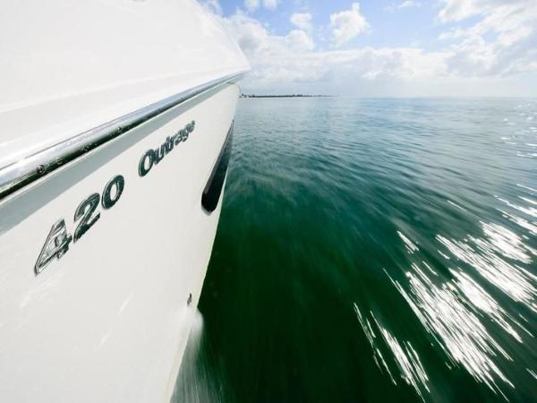 2020 Boston Whaler boat for sale, model of the boat is 420 Outrage & Image # 51 of 55