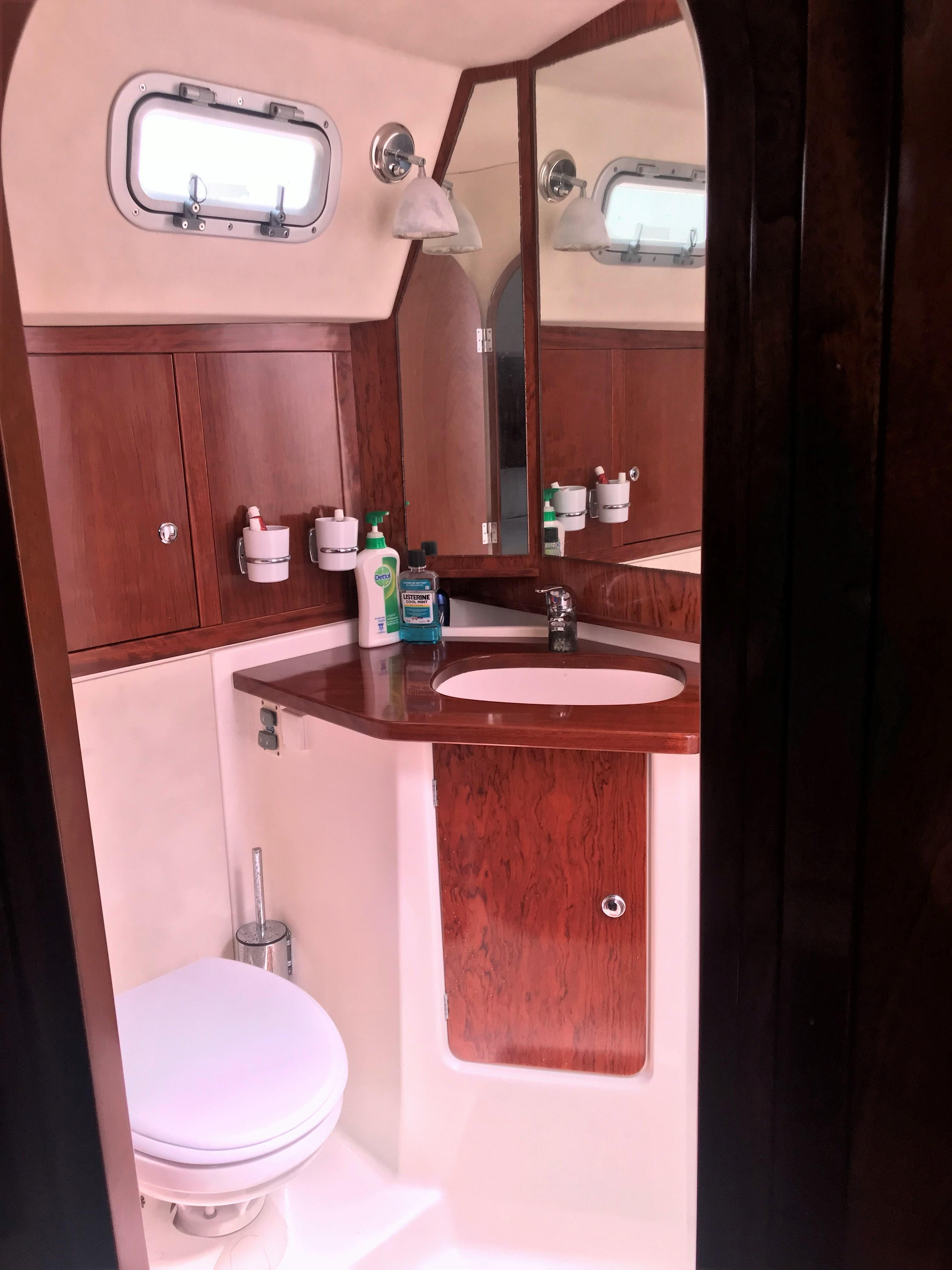 Master Cabin ensuite shower and heads