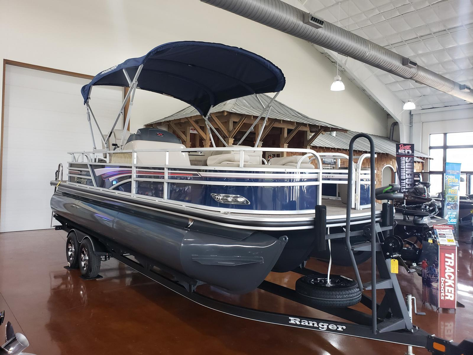 2019 Ranger Boats boat for sale, model of the boat is REATA 223F w/ Mercury 150L 4S & Image # 38 of 46