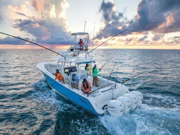 2020 Mako boat for sale, model of the boat is 414 CC Sportfish Edition & Image # 5 of 42