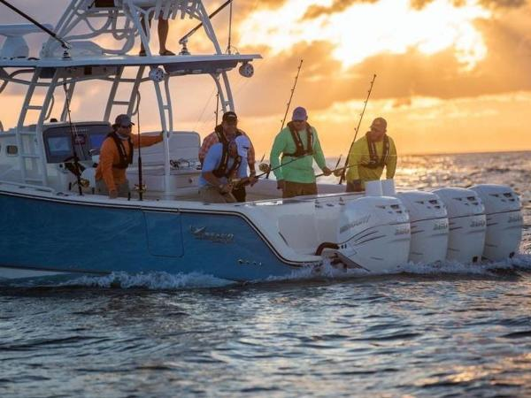 2020 Mako boat for sale, model of the boat is 414 CC Sportfish Edition & Image # 12 of 42