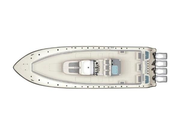 2020 Mako boat for sale, model of the boat is 414 CC Sportfish Edition & Image # 18 of 42