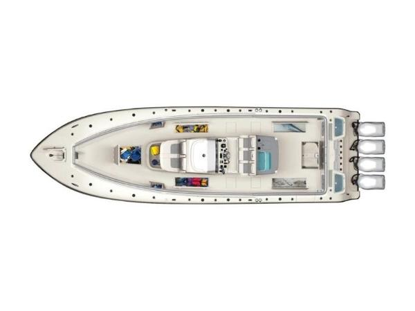 2020 Mako boat for sale, model of the boat is 414 CC Sportfish Edition & Image # 22 of 42