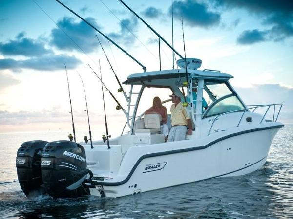 2020 Boston Whaler boat for sale, model of the boat is 285 Conquest & Image # 13 of 81