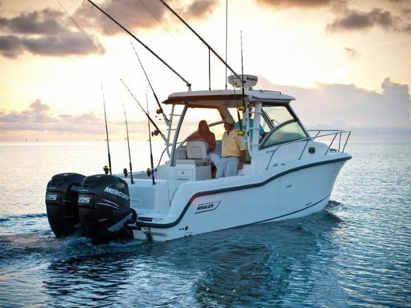 2020 Boston Whaler boat for sale, model of the boat is 285 Conquest & Image # 27 of 81